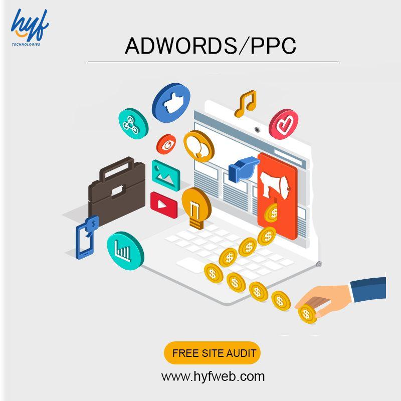Adwords Ppc Hyf Technologies Adwords Digital Marketing Services Web Design Company