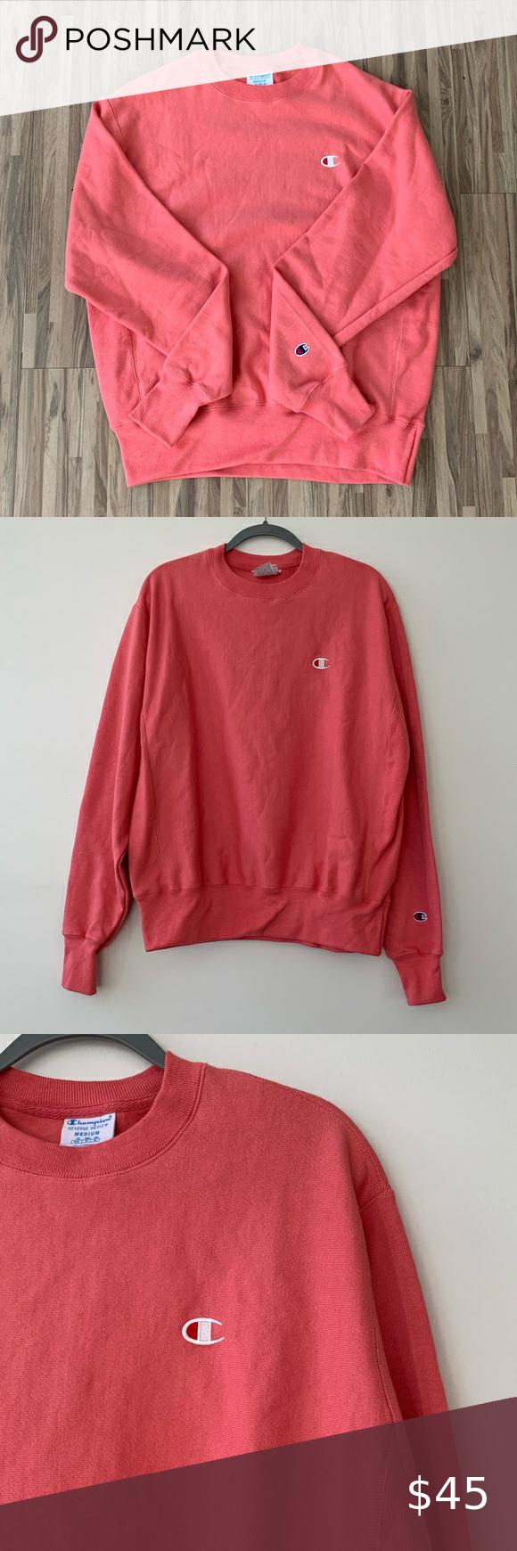 Champion Reverse Weave Crewneck Sweatshirt Champion Reverse Weave Crew Neck Sweatshirt Clothes Design [ 1740 x 580 Pixel ]