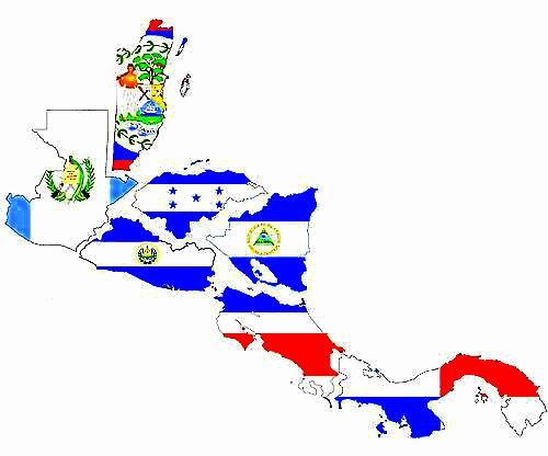 Central America flags | Paises / Countries | Pinterest | Latin