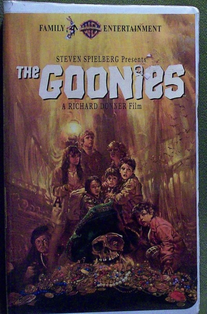 The Goonies Old school movies, Vhs movie, Badass movie