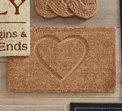 Welcoming Heart Doormat From Next Beautiful Houses