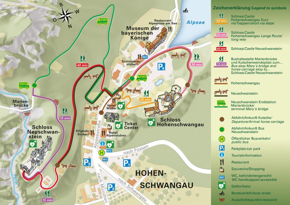 Neuschwanstein Und Hohenschwangau Schlossfuhrung 4 Hotel Ab 75 In 2020 Neuschwanstein Sehenswurdigkeiten Deutschland Hotel Bayern