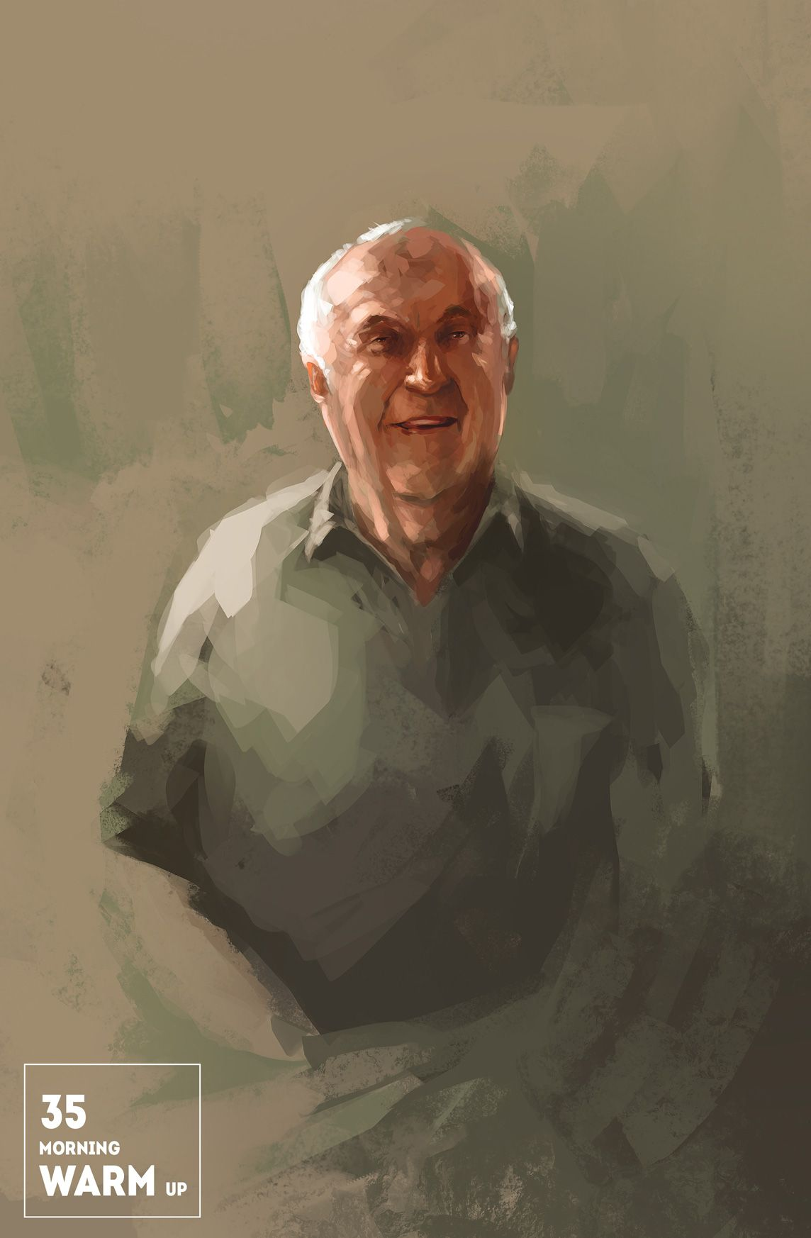 Morning Warm Up 35 Minute Color Study