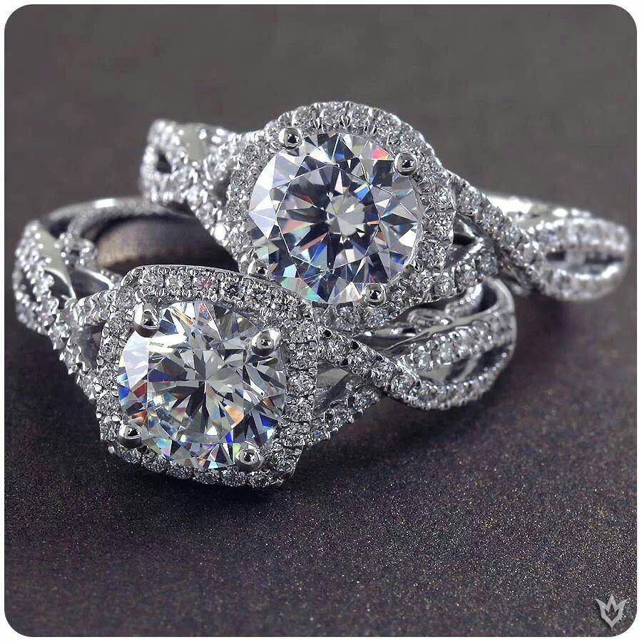 Pin by Kalani Santiago on Wedding Dream engagement rings