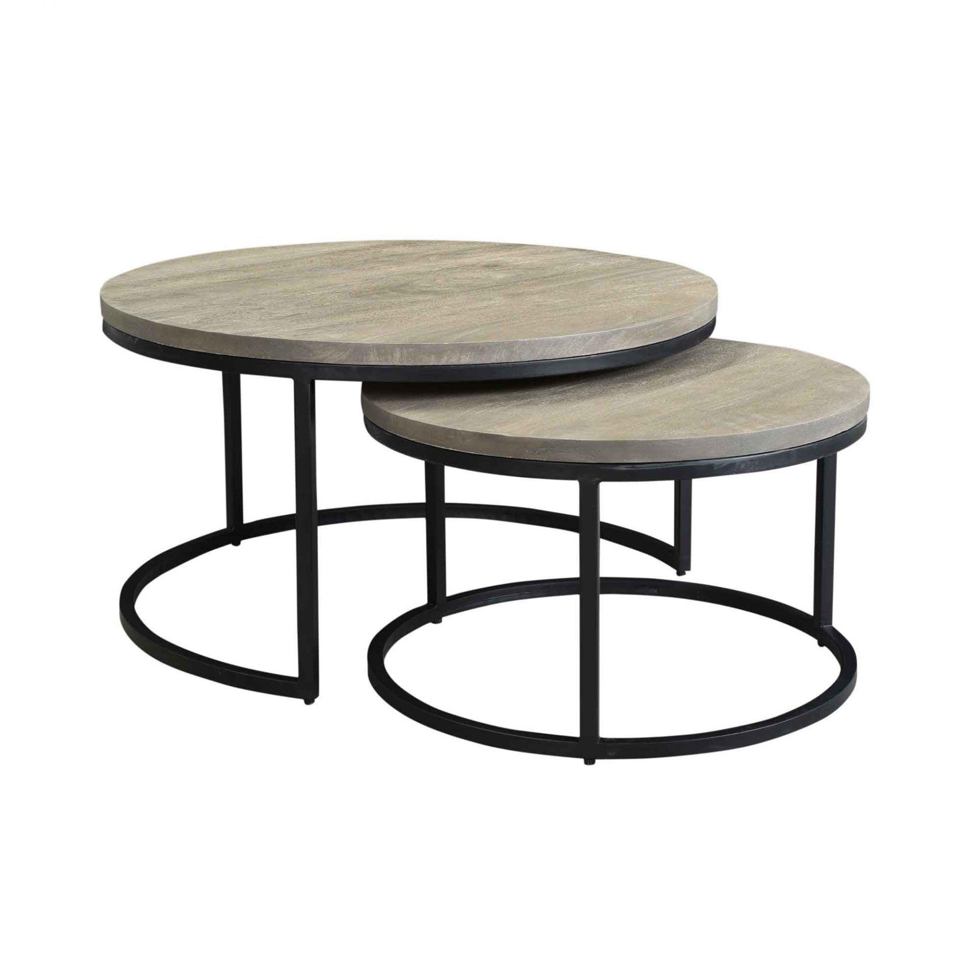Drey Round Nesting Coffee Tables Set Of 2 Coffee Tables Moe S Wholesale Nesting Coffee Tables Round Nesting Coffee Tables Round Coffee Table Sets [ 1920 x 1920 Pixel ]