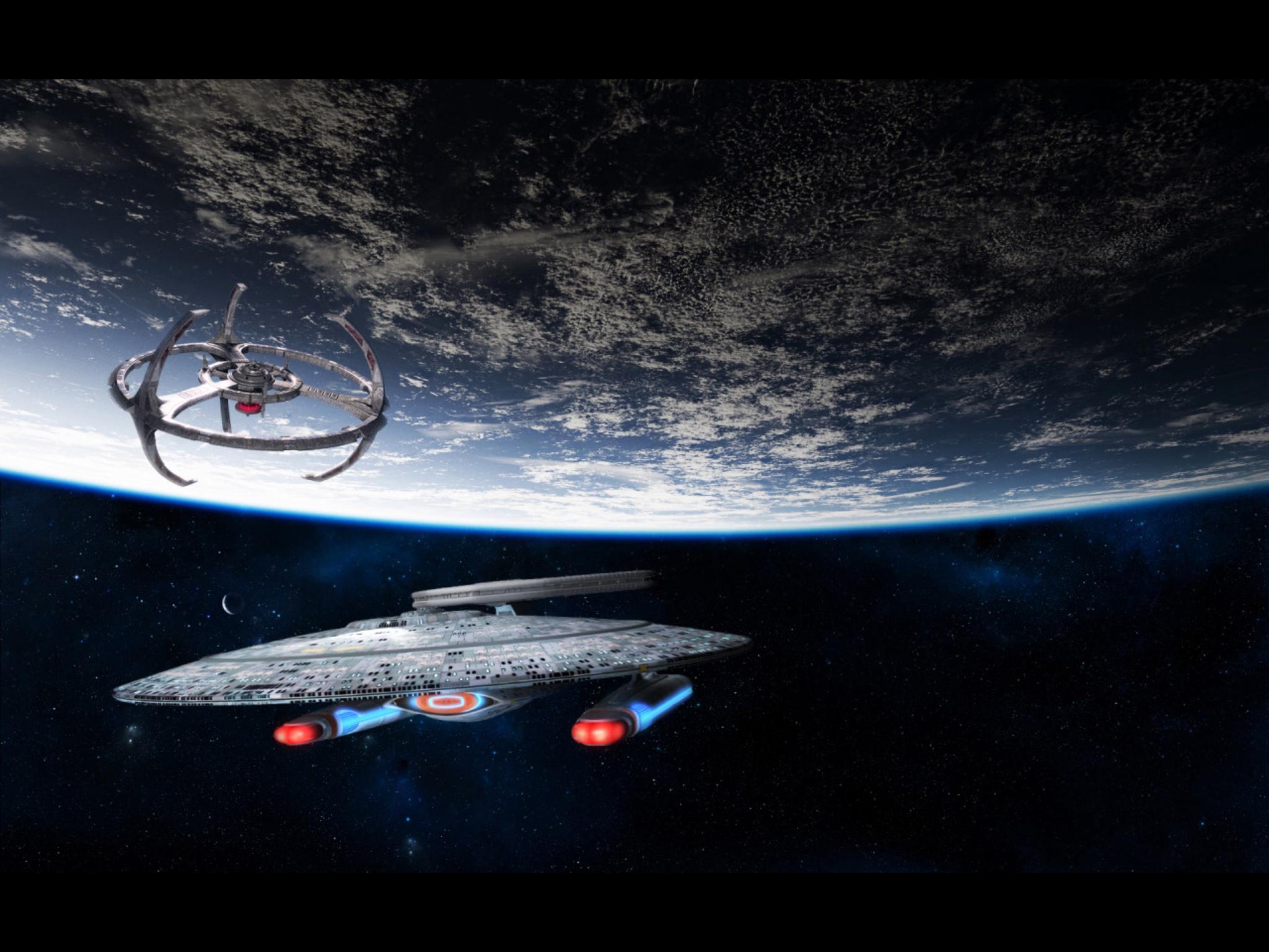 Pin By Andrew Suhrer On Star Trek Star Trek Wallpaper Planets Wallpaper Star Trek