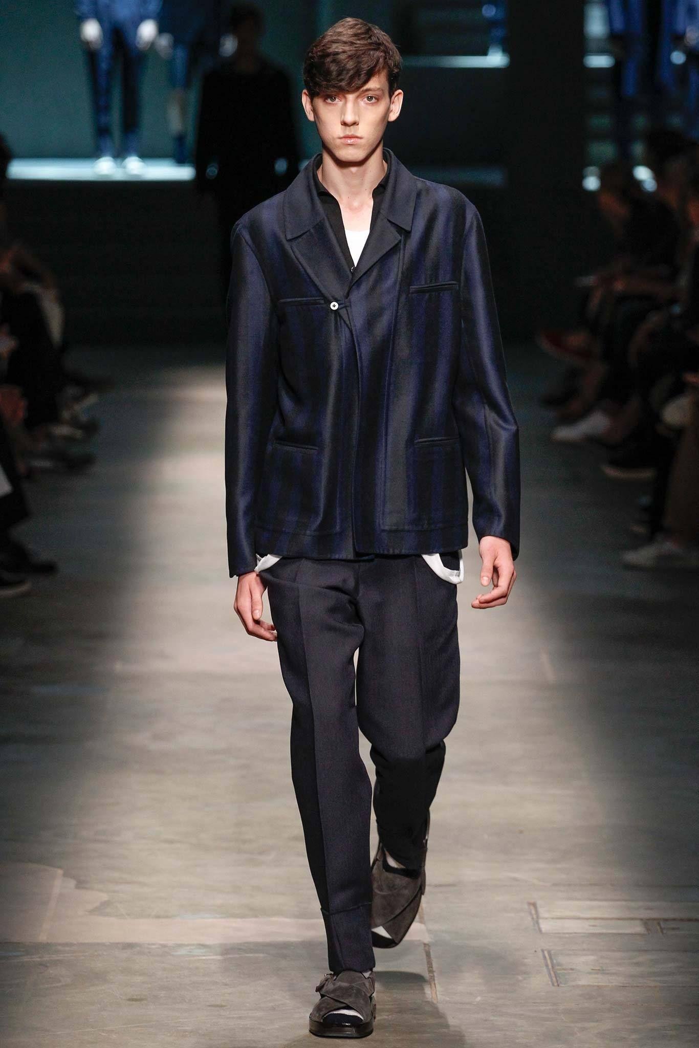 Ermenegildo Zegna - Spring 2015 Menswear - Look 2 of 42