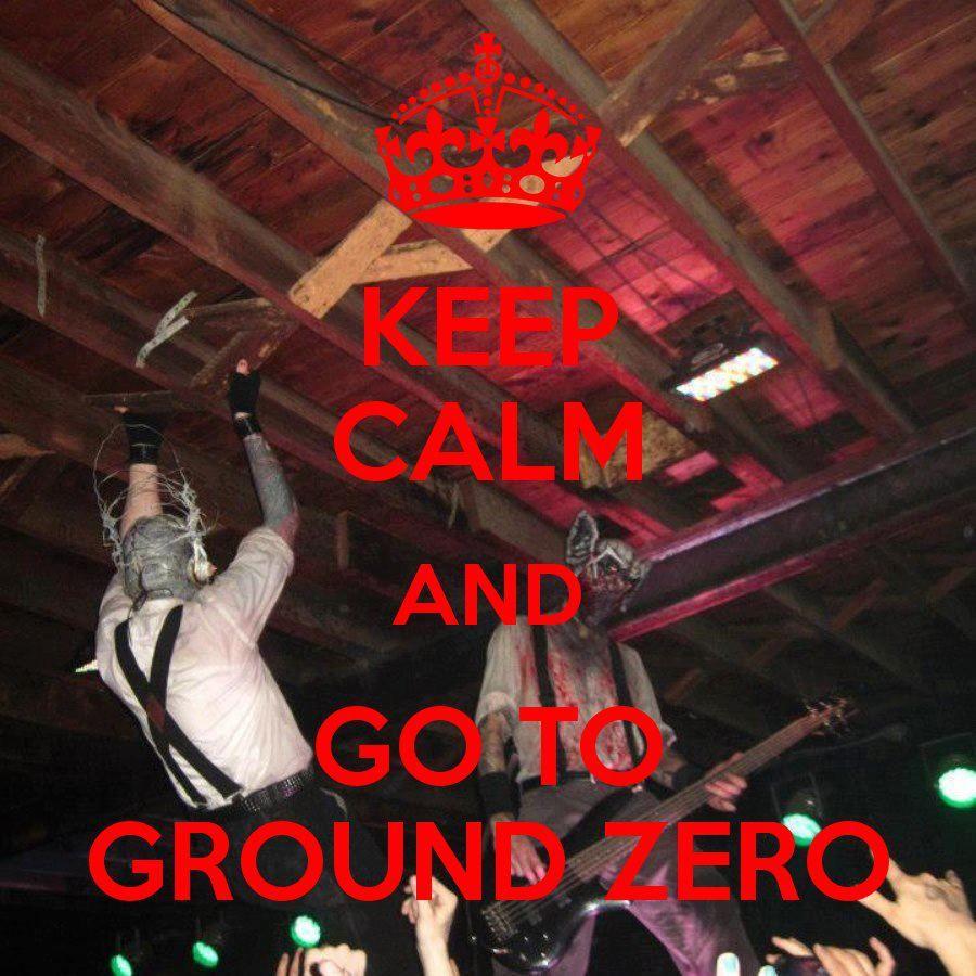 "Mushroomhead ""Keep Calm and go to GROUND ZERO"" Spartanburg SC"