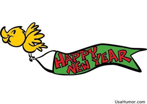 happy new year clipart banner free