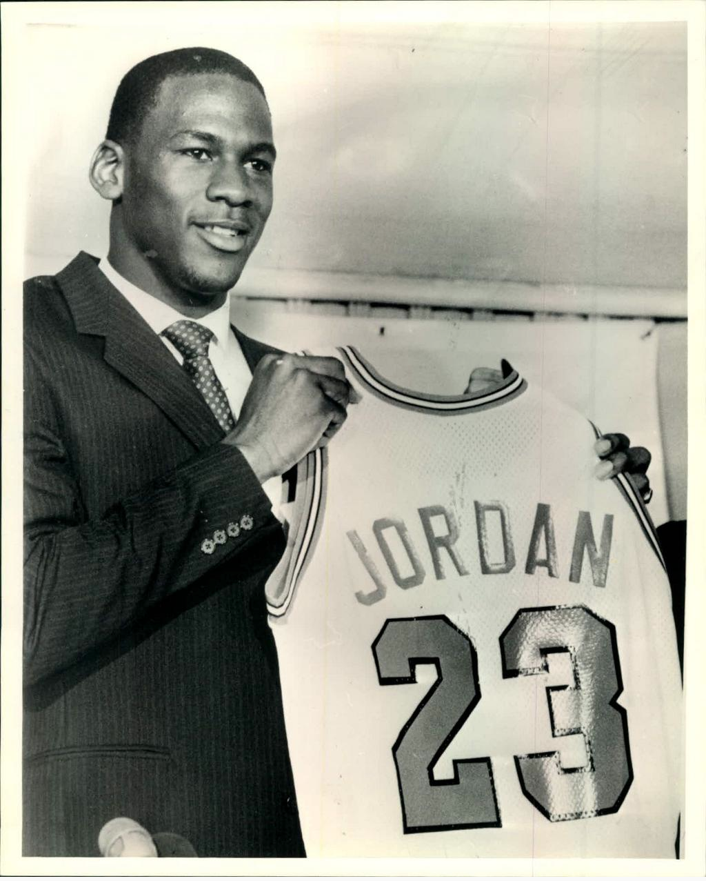 acb3fa6d4c8306 Michael Jordan drafted September 12
