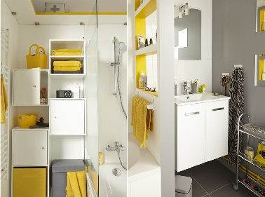 Petite salle de bain : 11 Idées pratiques et déco | Petites salles ...