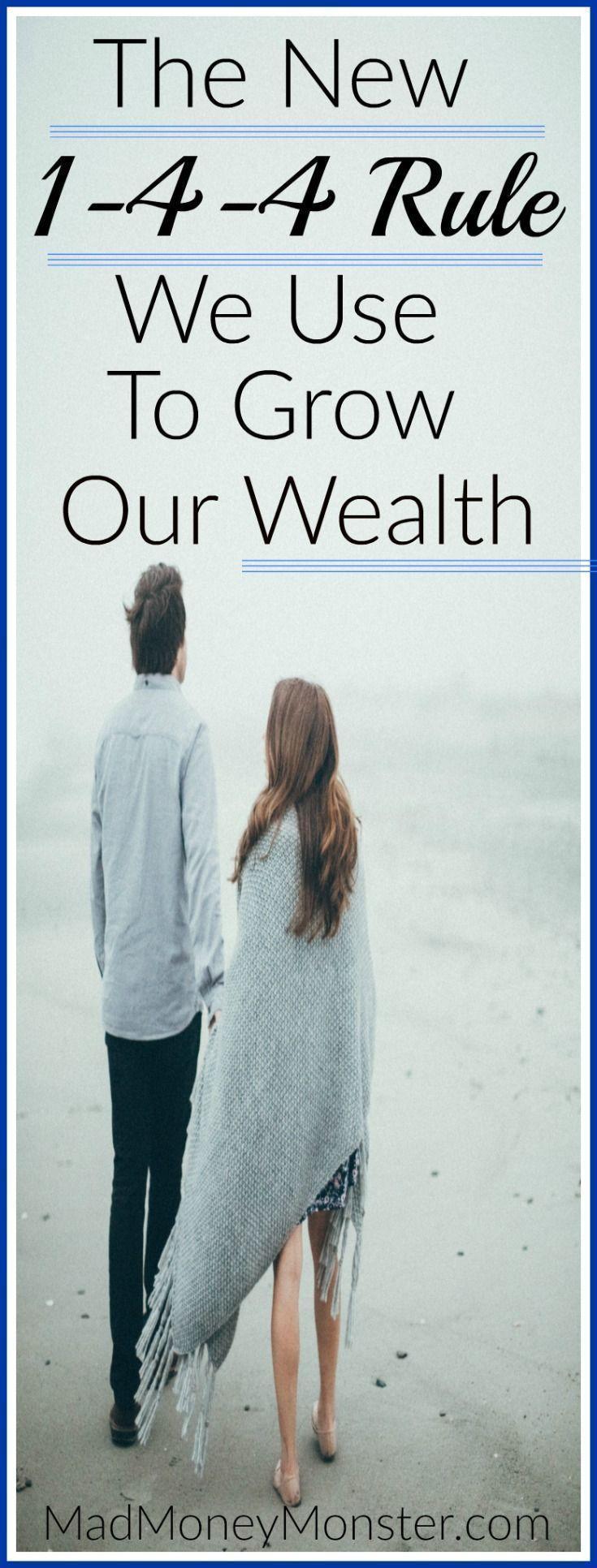 Die einfache 1-4-4-Regel, mit der wir unseren Reichtum auf unglaubliche Ebenen steigern