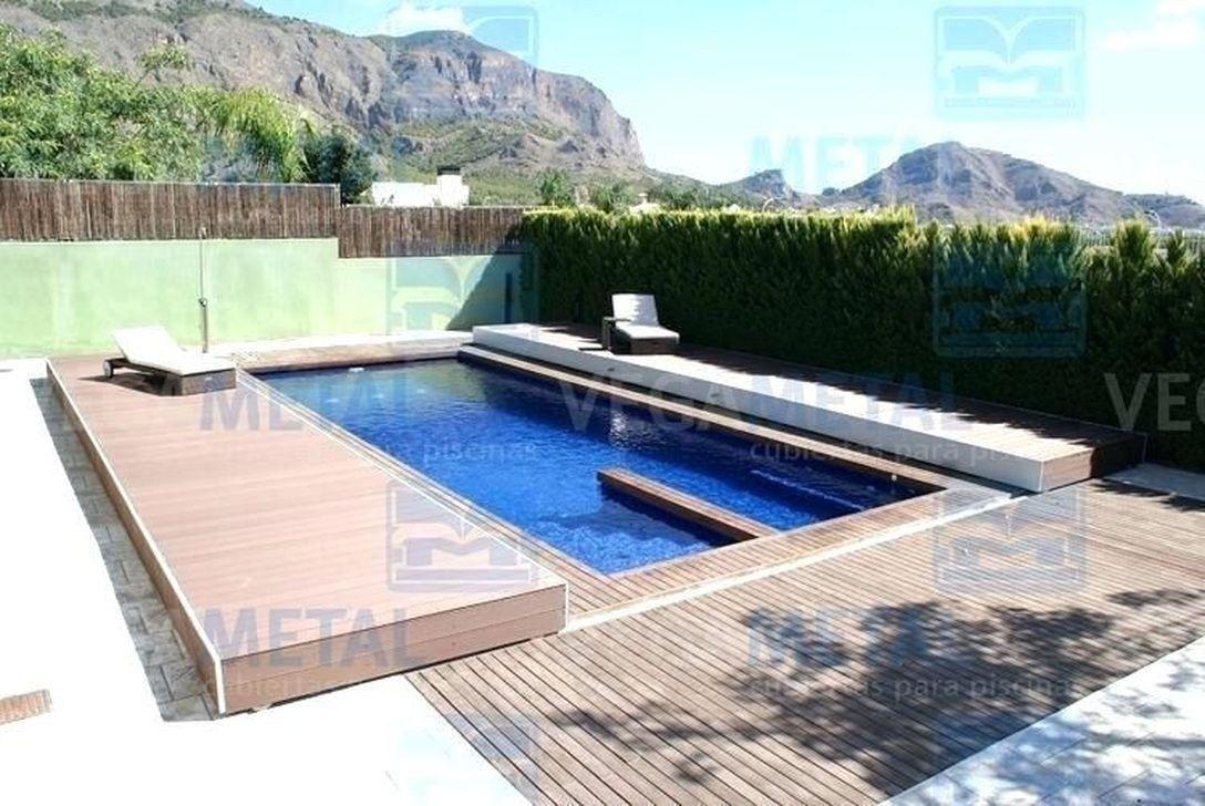 51 Popular Small Swimming Pool Design On A Budget #poolimgartenideen