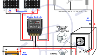 How To Wire Solar Panels In Series Batteries In Parallel In 2020 Home Automation System Smart Home Automation Solar Panels