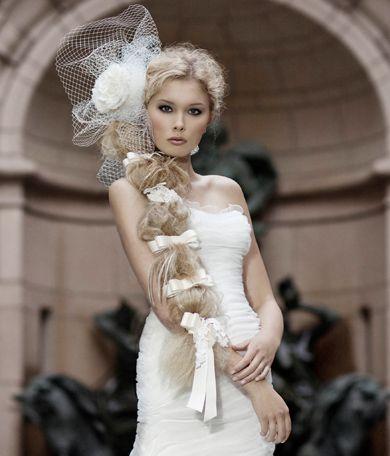 Tresse tendance, coiffure mariée, bride, mariage, wedding, hair, hairstyle, braid, updo, chignon, tresse