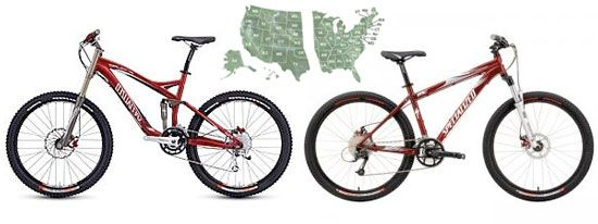 Full Suspension Vs Hardtail Mountain Bikes Regional Differences