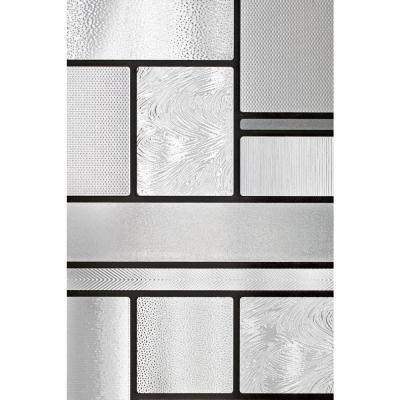 Artscape Decorative Window Film.Artscape 36 In W X 72 In H Skyline Decorative Window Film