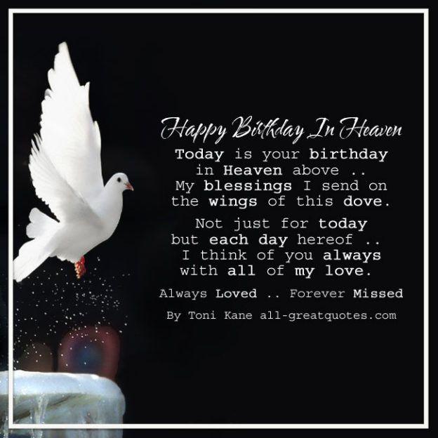 Always Loved Forever Missed | memory | Happy birthday in heaven
