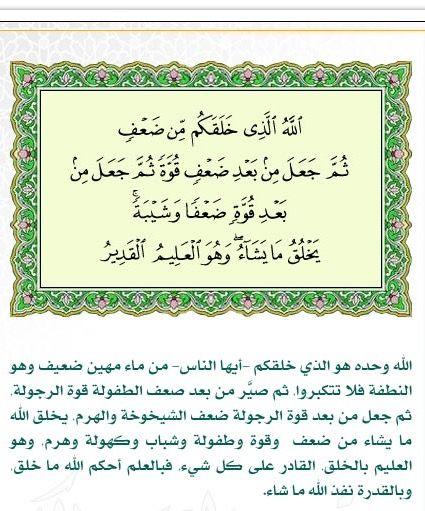 ٥٤ الروم Calligraphy Arabic Calligraphy Bullet Journal