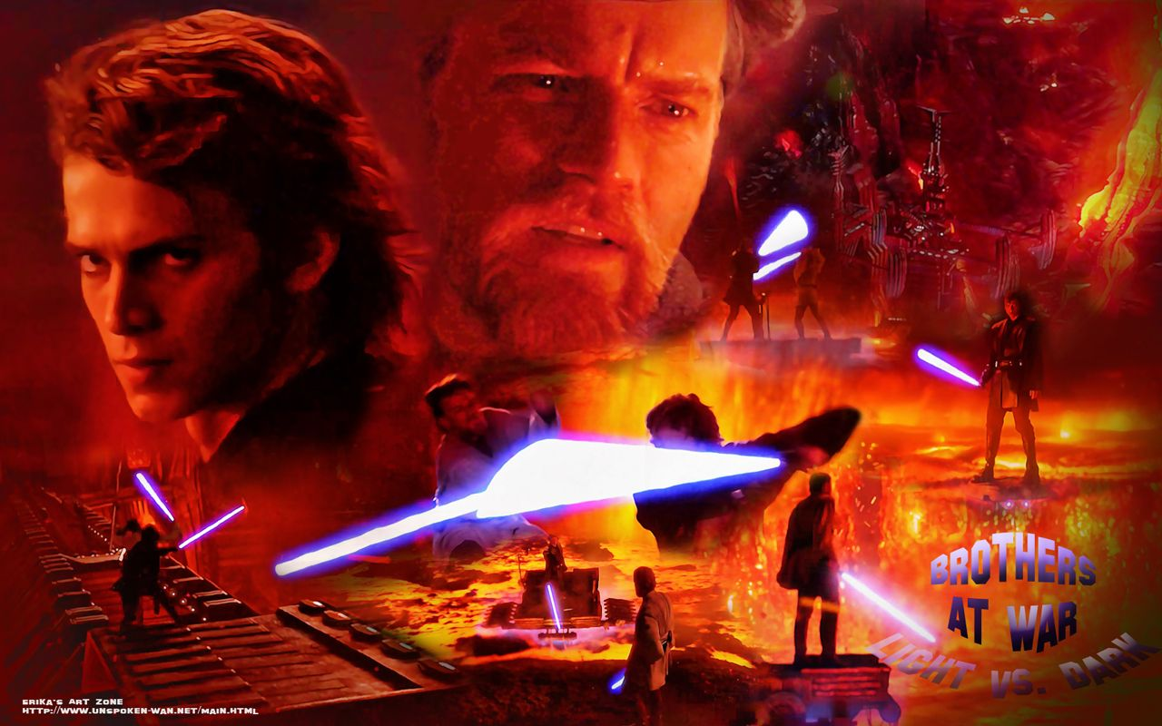 Obi Wan Kenobi Vs Anakin Skywalker On Mustafar Http Erikasartzone Wordpress Com Star Wars Awesome Star Wars Anakin Star Wars Galaxies