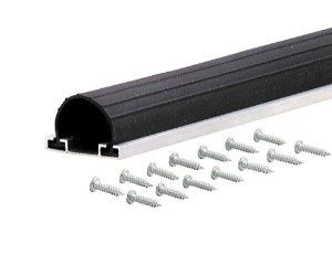 M D Building Products 87643 9 Feet Universal Aluminum And Rubber Garage Door Bottom Black By M D B Vinyl Garage Doors Garage Door Bottom Seal Garage Door Seal