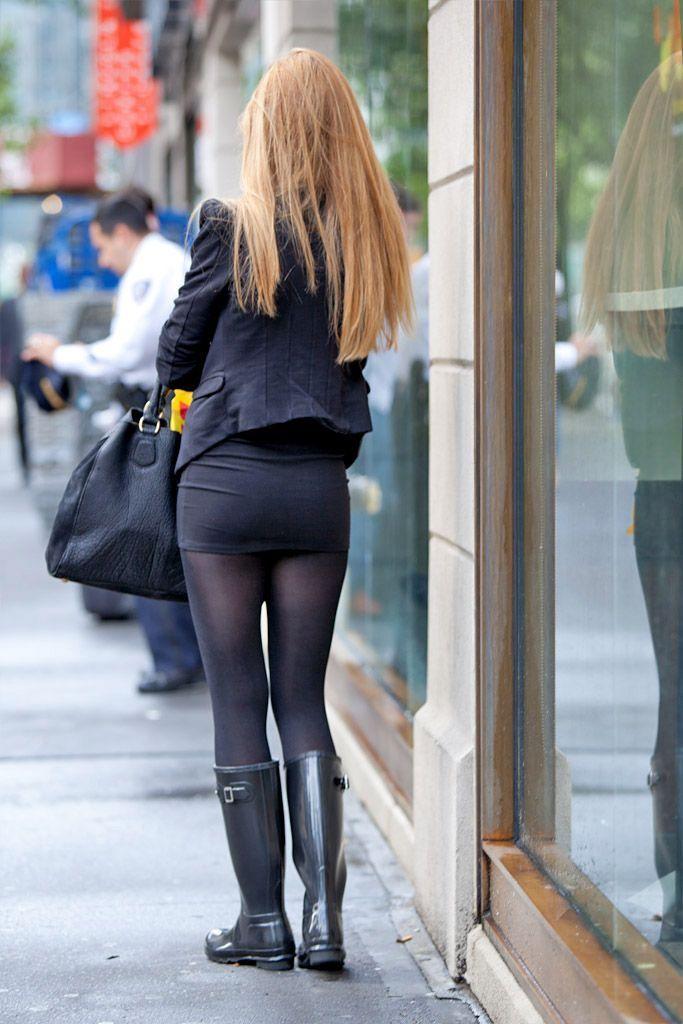 panty Amateur longskirt candid