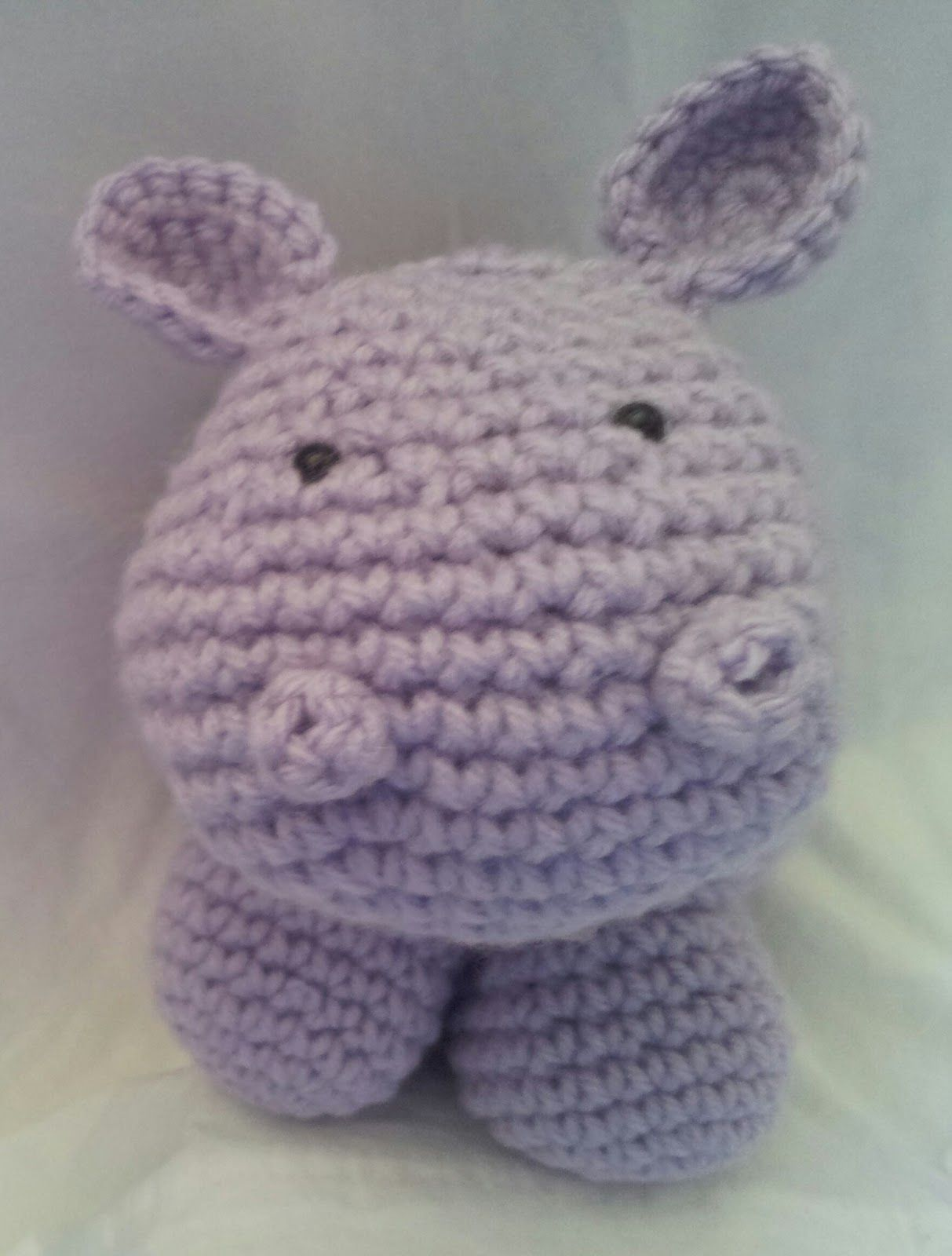 FREE crochet hippo tutorial | Things to Remember :) | Pinterest | Molde
