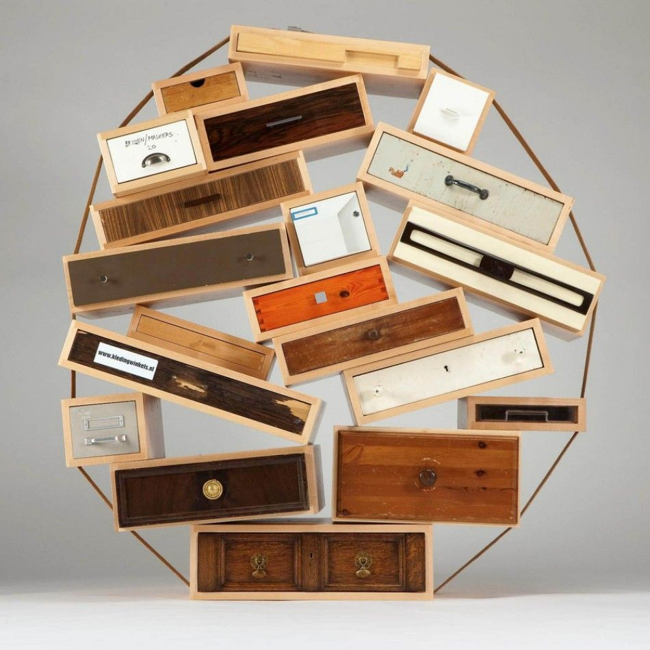 Chest of drawers droog design interior decor design architecture muebles et madera for Mobilier contemporain luxe