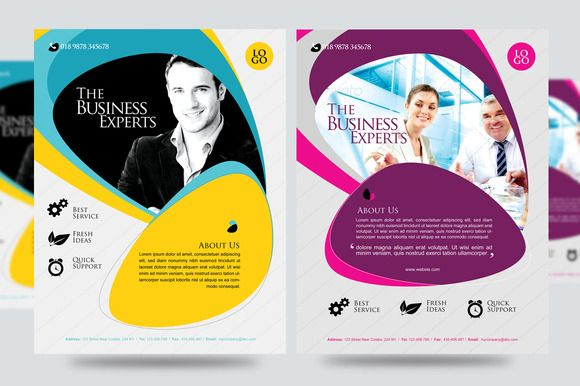 Corporate Business Promotion Flyer by Satgur Design Studio on - promotional flyer template