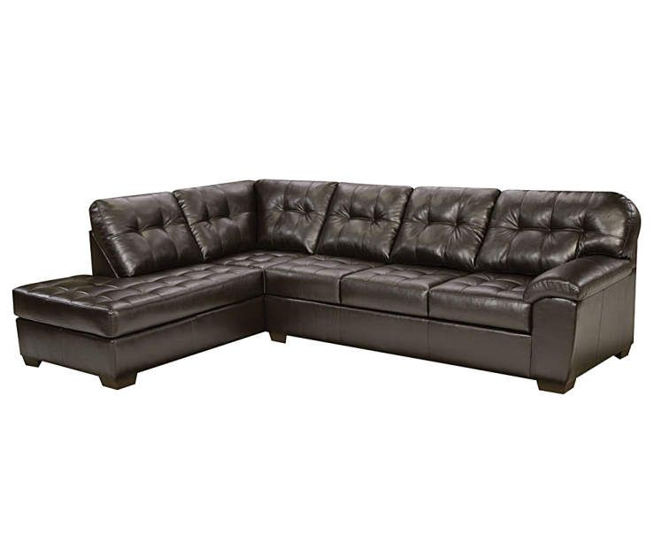 Buy A Simmons Brooklyn Sectional, 2-Piece Set At Big Lots
