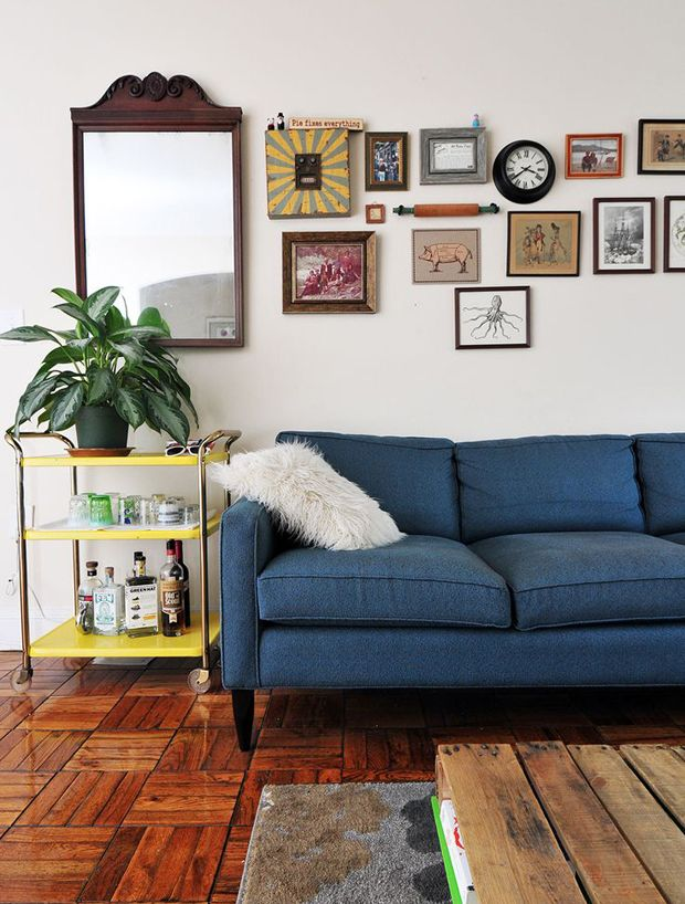 Couch Conundrum | Home Decorating | Pinterest | More Navy Couch