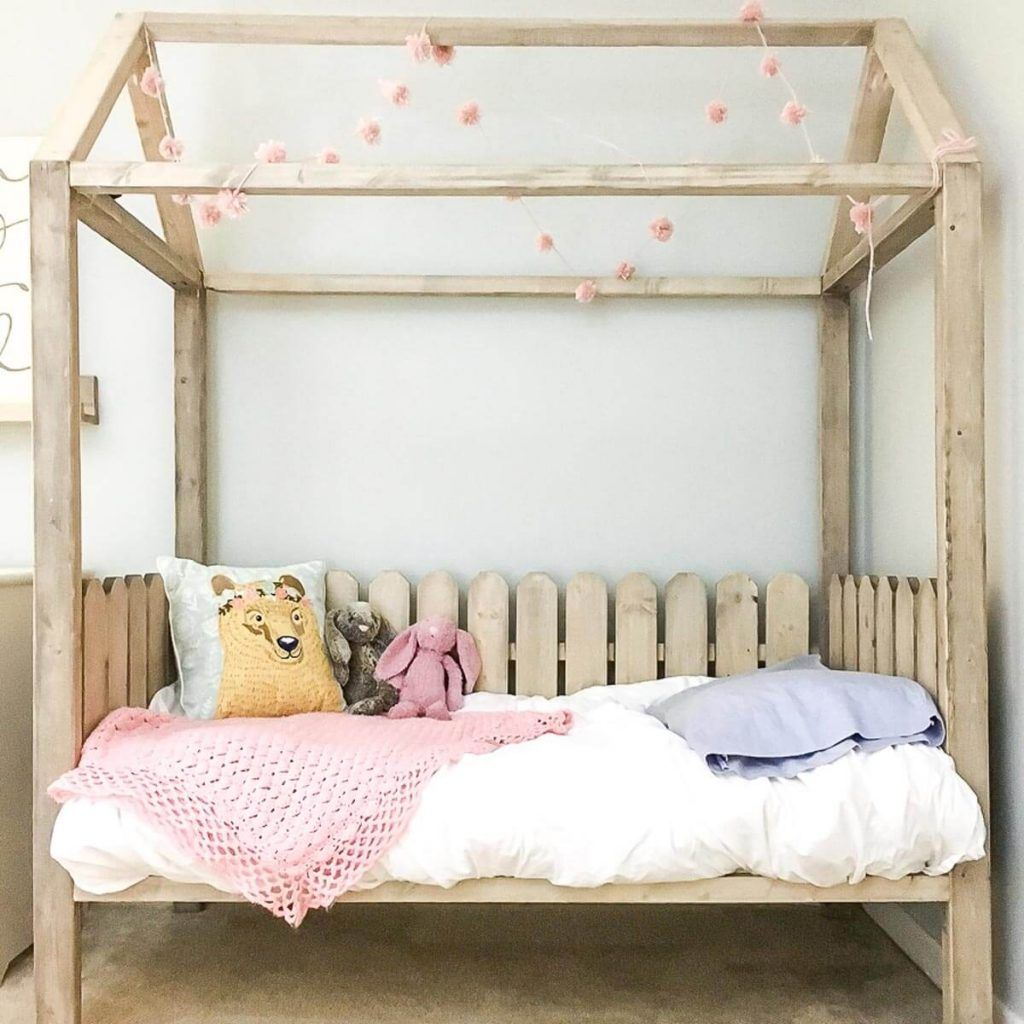 25 diy bed frame projects house frame bed