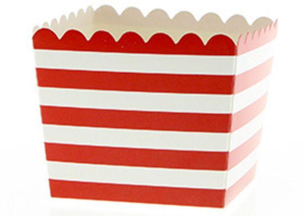 2 rot wei e streifen snack schachteln ab 1 80 rot wei e streifen pinterest. Black Bedroom Furniture Sets. Home Design Ideas