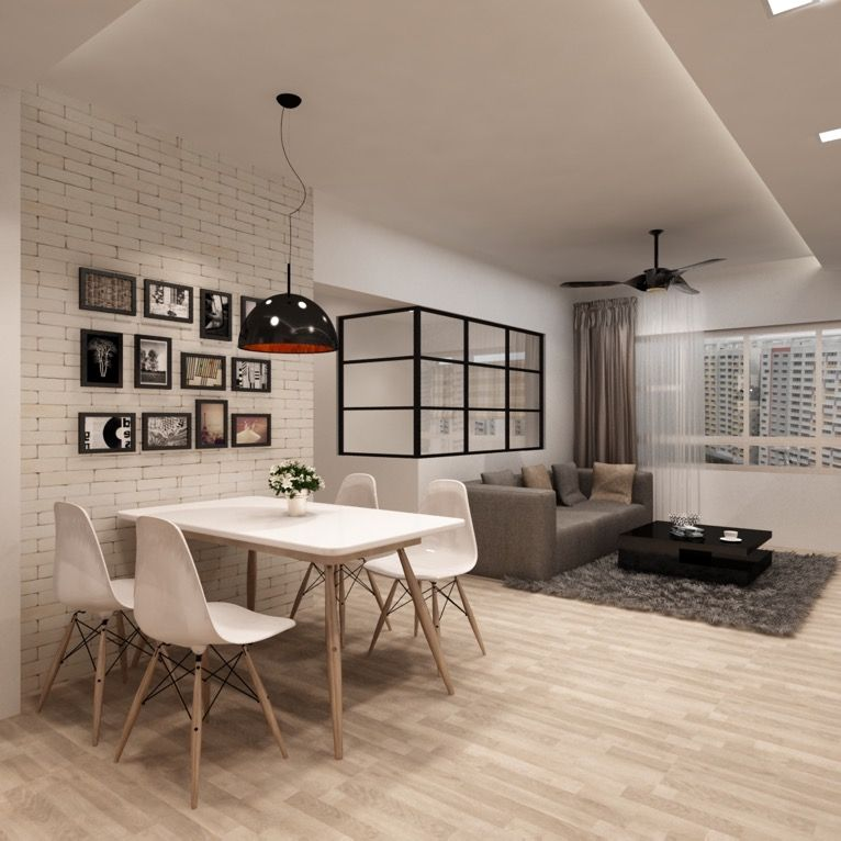 Kitchen Impossible Idee: Ax+image+hdb+bto+hougang+living+room
