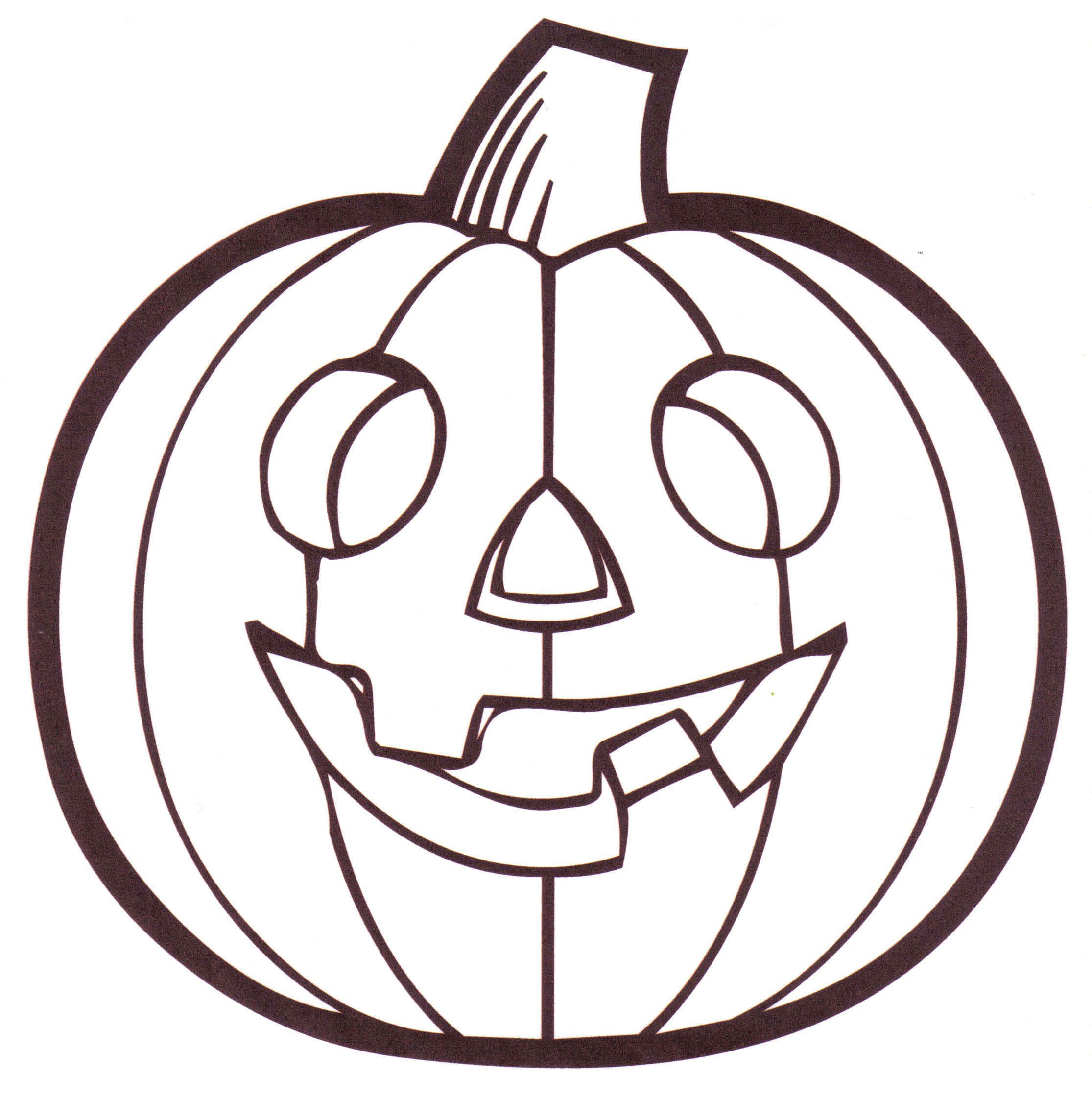 Pumpkin Coloring Pages For Preschool
