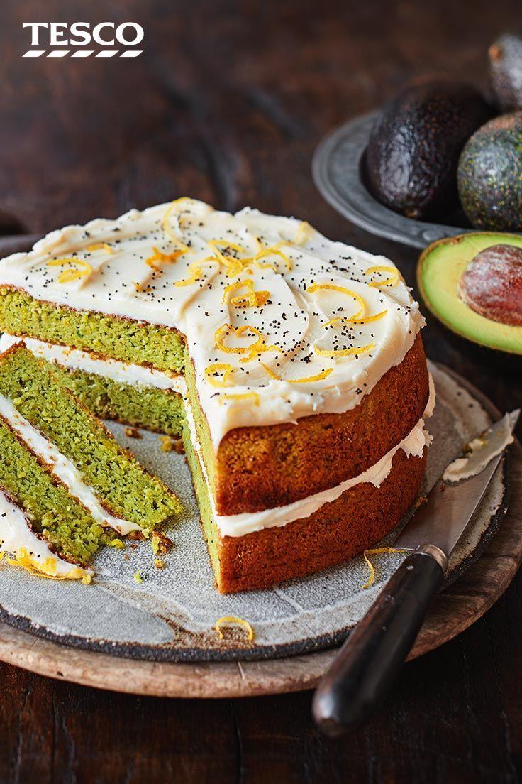 Avocado lemon and poppy seed cake recipe in 2020