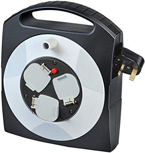 Brennenstuhl 1095453 10 M 3way Primeraline Cable Box Blacklight