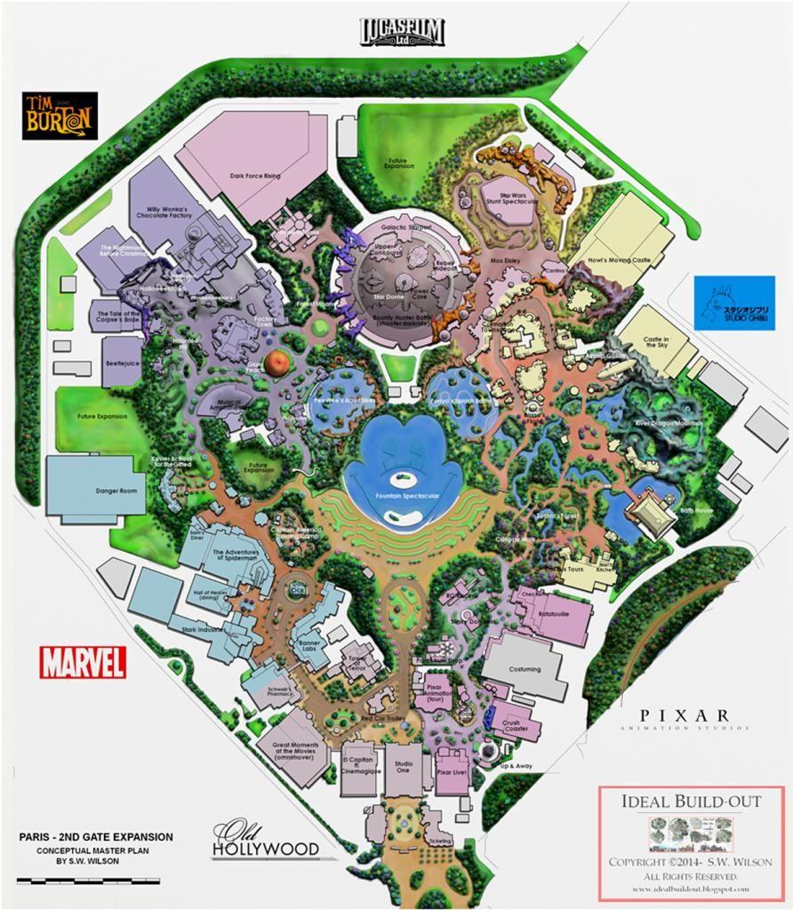 Disneyland Paris Karte 2018.Pin By Alexander Lau On Map Disney Concept Art Theme Park