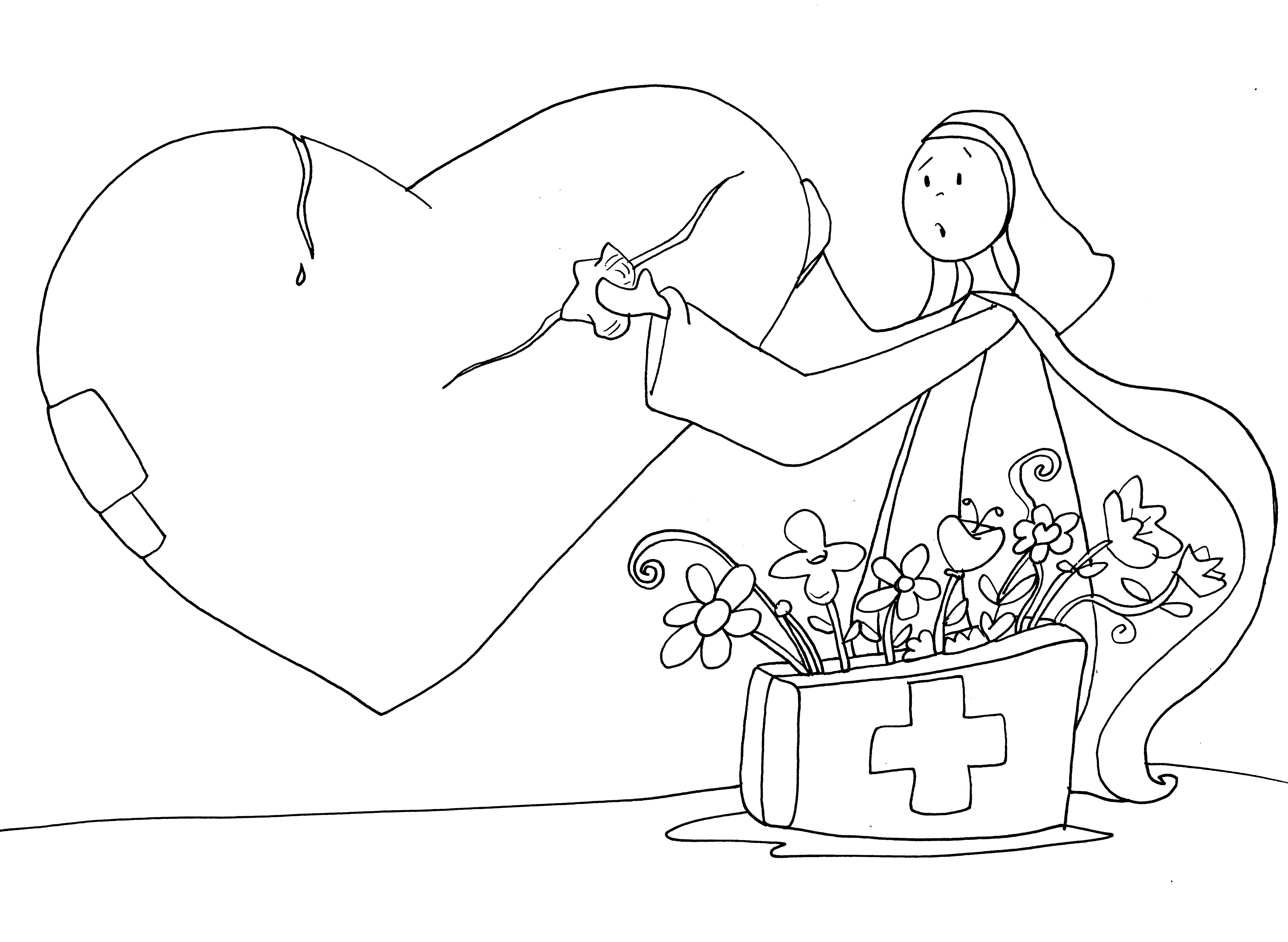 Teresa corazón roto   Teresa de Jesús   Pinterest   Corazón roto y ...