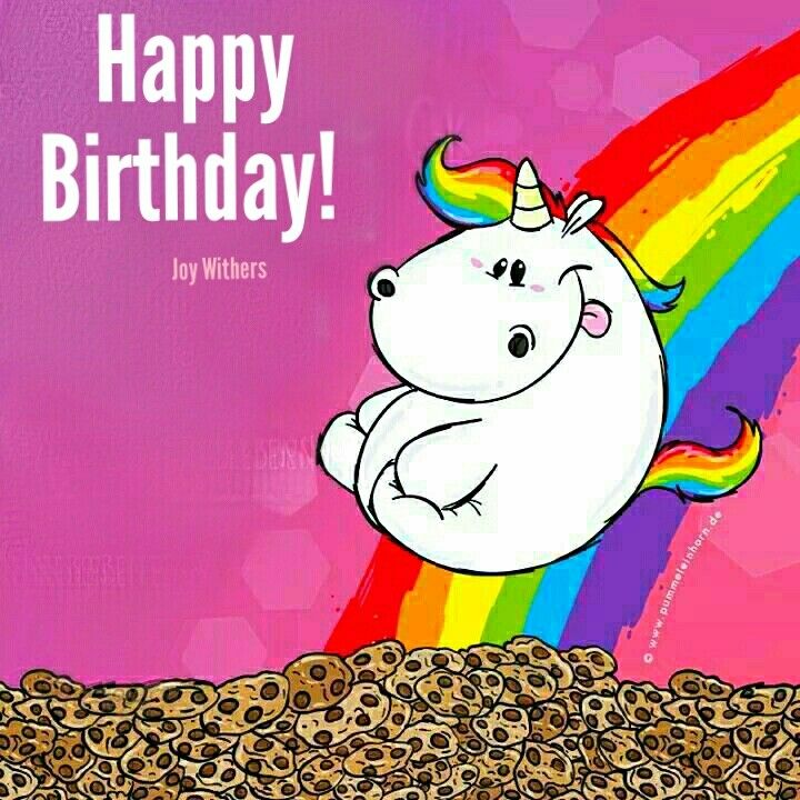 Pin Von Virginia Rodriguez Auf Birthday Wishes For Fb Einhorn