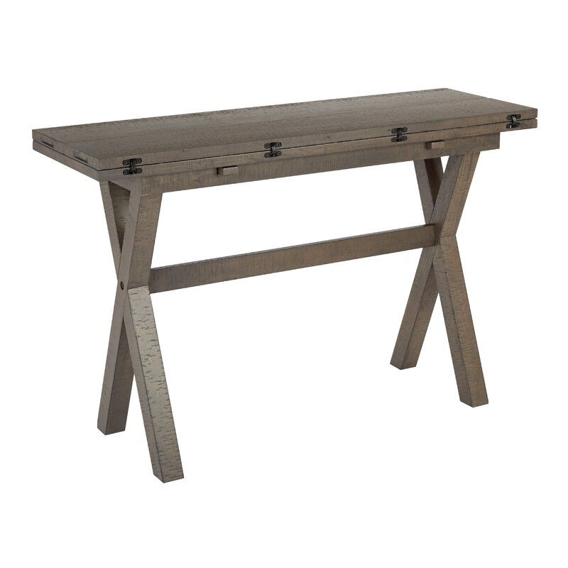 Meilani Flip Top Console Table Flip Top Table Wood Dining Room Osp Home Furnishings