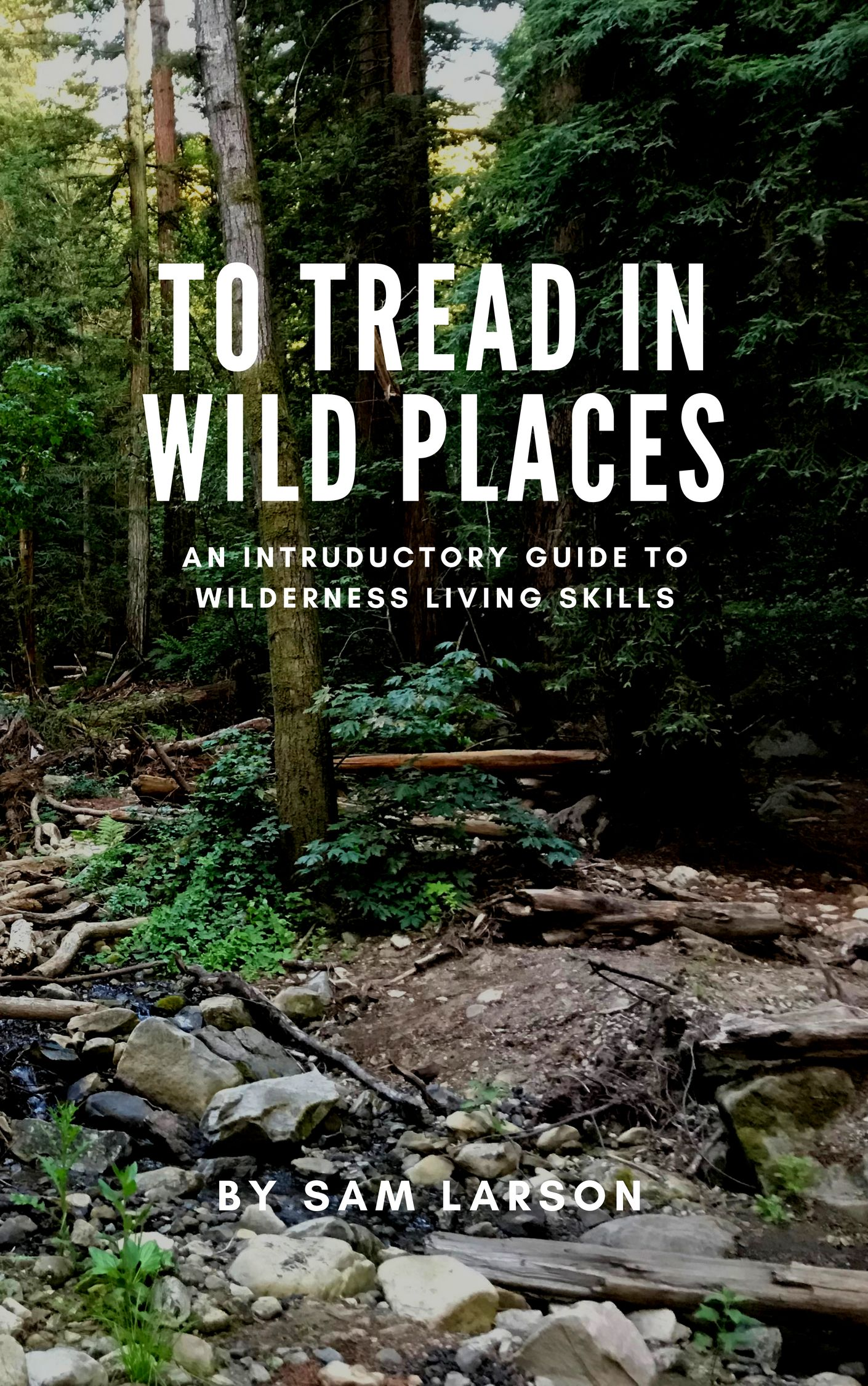 To Tread In Wild Places Woodsong Wilderness Skills Blog