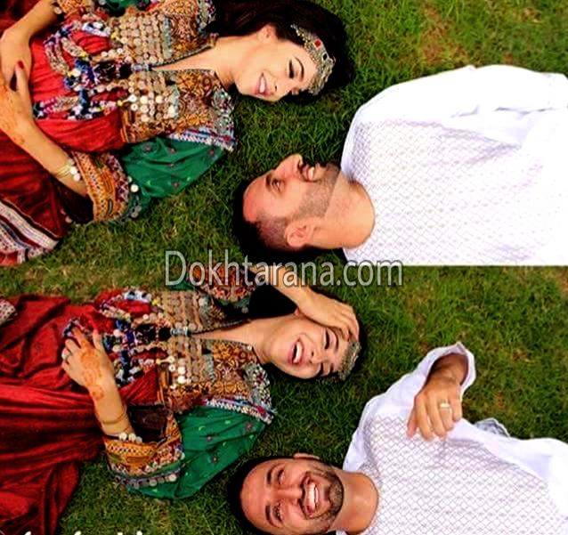 #afghan #couple #cloths #wedding #style