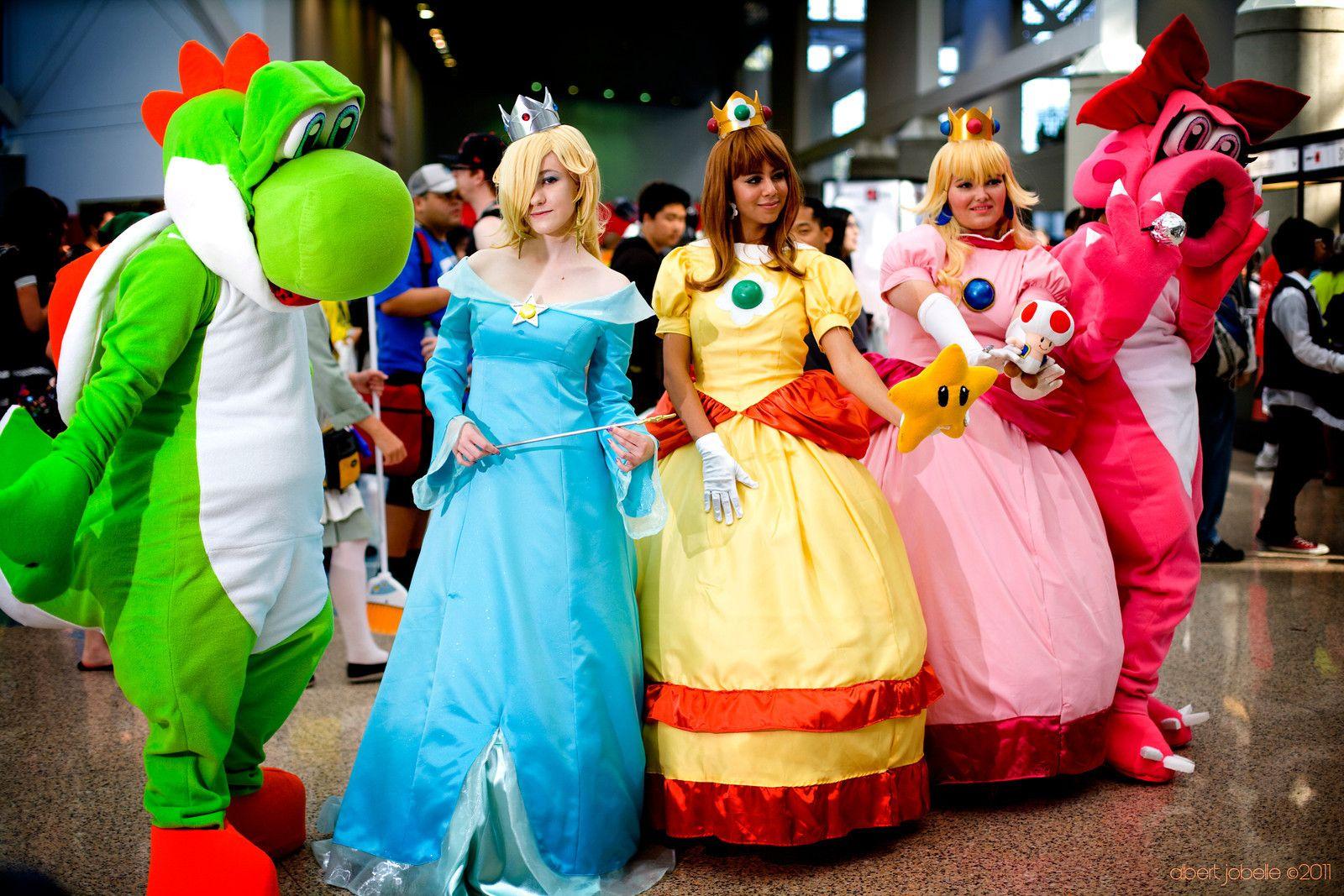 Nintendo Cosplaying Group By Chingrish On Deviantart Mario