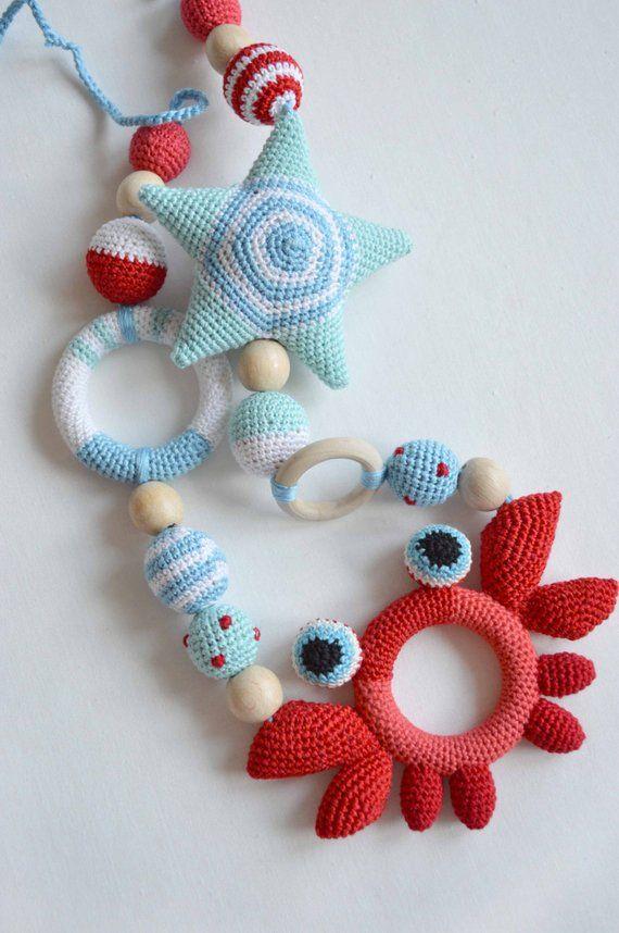 Photo of Baumwollspielzeug Tea Shop Boy Beißspielzeug | Bio-Babyrassel | Gefülltes Rasselspielzeug | Lernspielzeug Teehaus