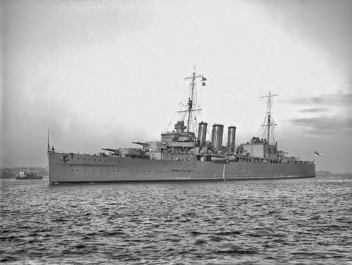 HMS Cornwall (56) was a County class heavy cruiser of the Kent subclass built for the Royal Navy in the mid-1920s Originally shared by +John Currin HMS Cornwall (56) was a County class heavy cruiser of the Kent subclass built for the Royal Navy in the mid-1920s.