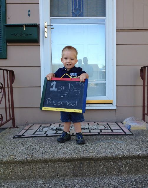 ians first day of preschool
