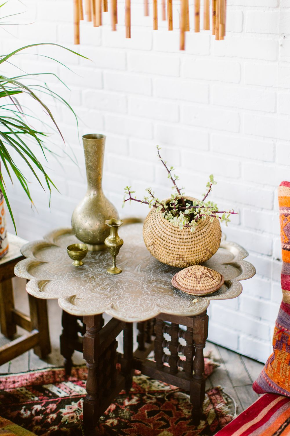 Delightful Maggpie Rentals, Philadelphia Styled Shoot, Bohemian Rentals, Brass  Moroccan Table, Macrame,