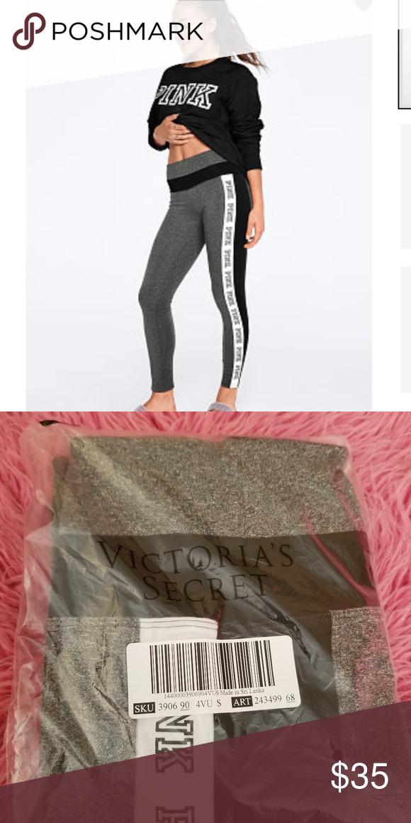 010a8998d5f6f Victoria's Secret PINK Cotton Colorblock Legging S Brand new in ...
