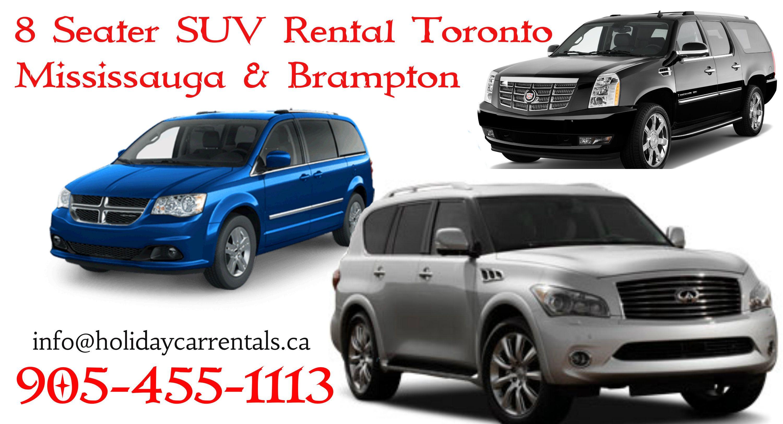 Mississuaga Brampton Car Rental Services 12 8 7 Seater Passenger Van Car Rental Service 12 Passenger Van Suv Rental